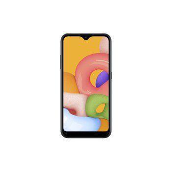 Imagem de Celular Samsung Galaxy A-01 32GB Dual - SM-A015MZKSZTO Preto Quadriband