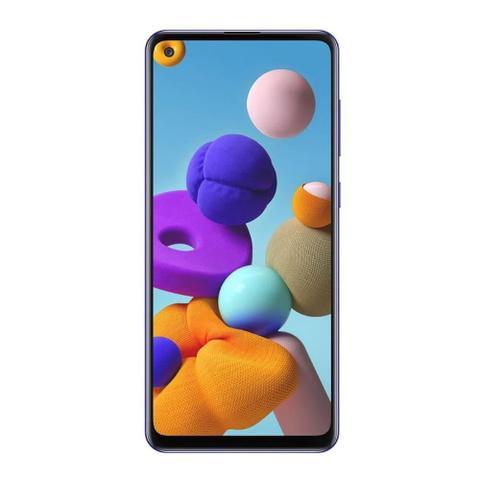 Imagem de Celular Samsung Galaxy A21s Azul 64gb