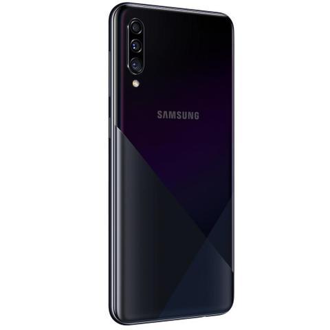 Imagem de Celular Samsung Galaxy A30s Preto 64GB Câmera Tripla 25MP + 5MP + 8MP