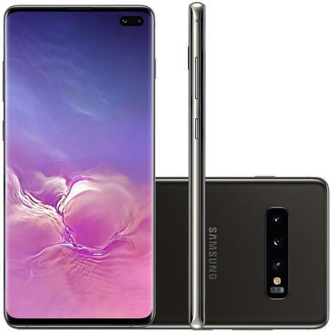 Imagem de Celular Samsung Galaxy S10 Plus Preto 512GB Tela 6.4 8GB RAM Cam 16MP 12MP 12MP