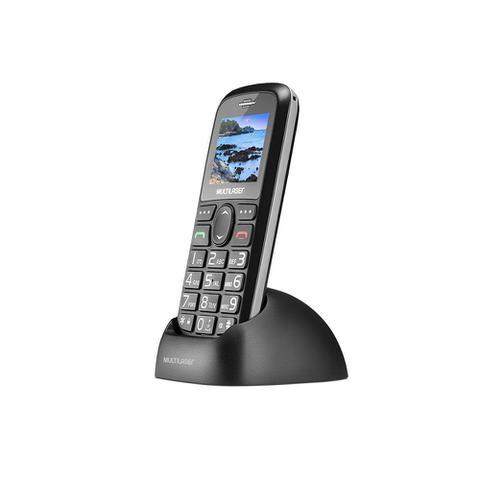 Imagem de Celular Vita Multilaser Dual Chip Bluetooth Tela 1,8 Pol. + Base Carregadora Preto - P9089