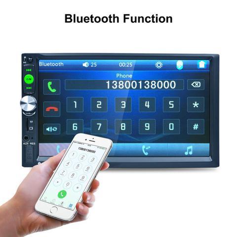 Imagem de Central Multimedia Hd Touch Screen 7 Pol Usb Bluetooth