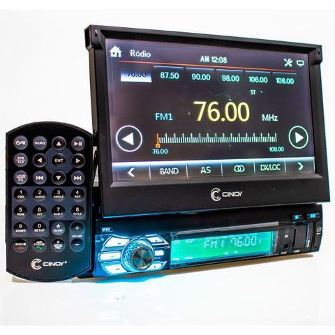 Imagem de Central Multimídia 7 Mp5 Bluetooth Dvd Retratil Espelhamento