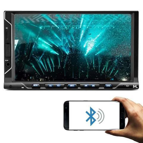 Imagem de Central Multimídia Evolve Fit S c/ Bluetooth e Espelhamento + Câmera de Ré