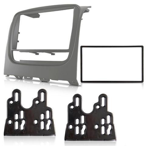 Imagem de Central Multimidia Fiat Idea 2015 em Diante com Pioneer DMH-G228BT, Camera de Re, Moldura Cinza e Interface