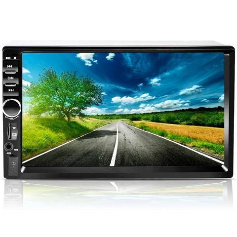 Imagem de Central Multimidia Mp5 7 Polegadas Bluetooth USB SD e Espelhamento Android First Option