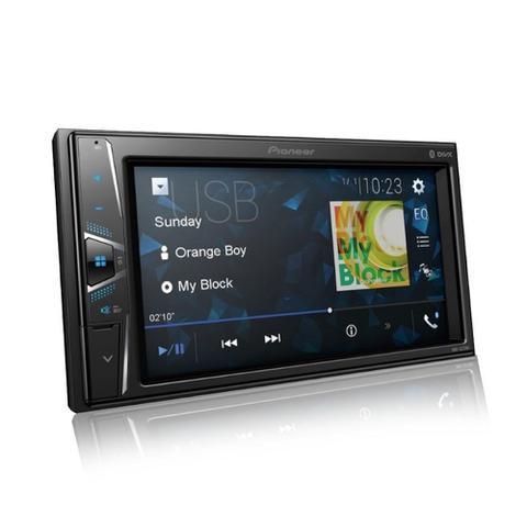 Imagem de Central Multimídia Pioneer 2 DIN DMH-G228BT Tela Touch 6.2 Bluetooth USB Rádio AMFM