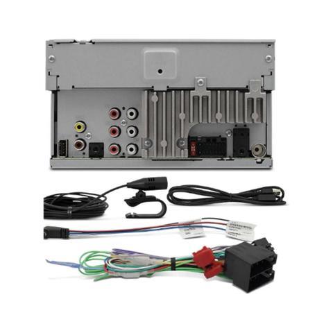 Imagem de Central Multimídia Pioneer Avh-A218bt+ Moldura 2 Din + Câmera Ré New Honda Fit