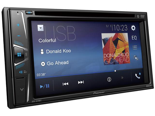 Imagem de Central Multimídia Pioneer AVH-G218BT Tela LCD