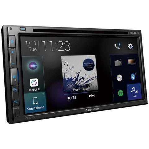 Imagem de Central Multimídia Pioneer AVH-Z5280TV, 2-DIN, Tela Touch 6,8