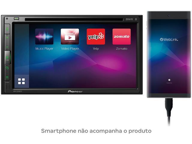 """Imagem de Central Multimídia Pioneer AVH-Z5280TV LCD 6,8"""""""