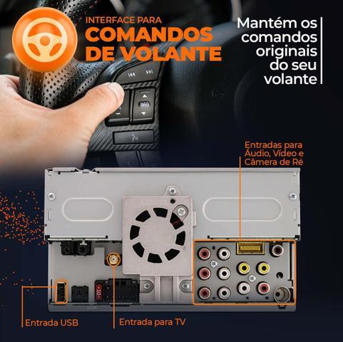 """Imagem de Central Multimídia Pioneer Creta 2 Din AVH-Z5280TV 6.8"""" TV BT Espelhamento Android Iphone +Câmera Ré"""