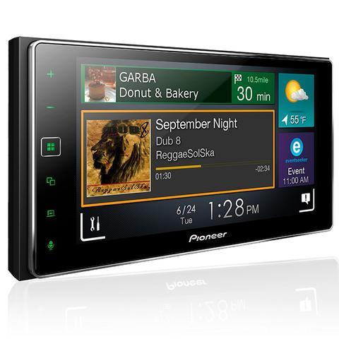 Imagem de Central Multimidia Pioneer SPH DA138TV 2 Din 6,2 USB Buetooth Conexão Waze Spotify Apple CarPlay
