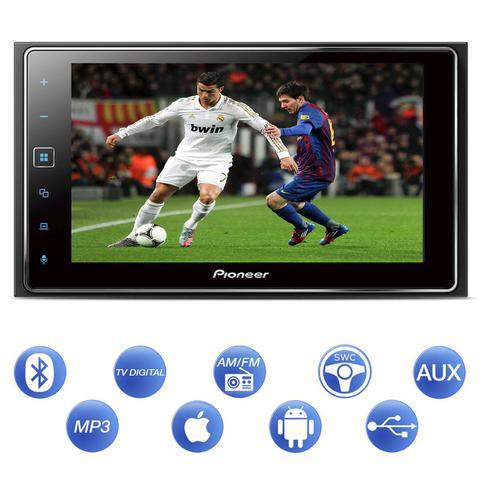 Imagem de Central Multimídia Pioneer SPH-DA138TV 2 Din Bluetooth Espelhamento TV Smartphone Aplicativo Mixtrax