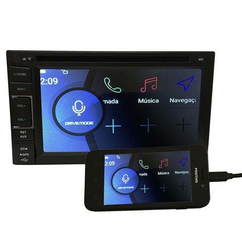 Imagem de Central Multimidia Polo 2002 a 2014 GPS TV Digital PhoneLink