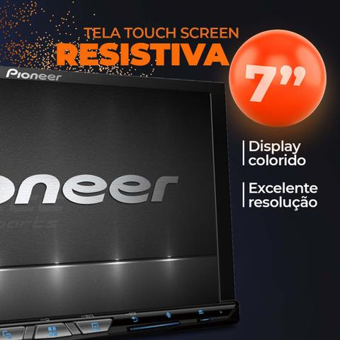 "Imagem de Central Multimidia TV Pioneer AVH-Z9280TV 7"" Bluetooth Espelhamento Android Iphone DVD + Câmera Ré"