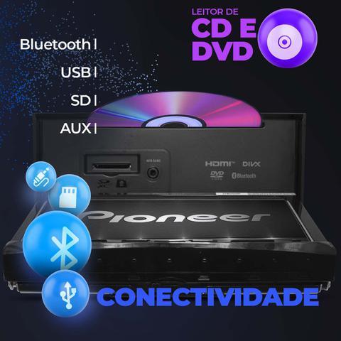 """Imagem de Central Multimidia TV Pioneer HB20 12 a 18 AVH-Z9280TV 7"""" BT Espelha Android Iphone DVD + Câmera Ré"""