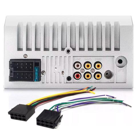 Imagem de Central Multimídia Universal Dvd 2 Din Mp5 Bluetooth Usb Aparelho Rádio Automotivo Som