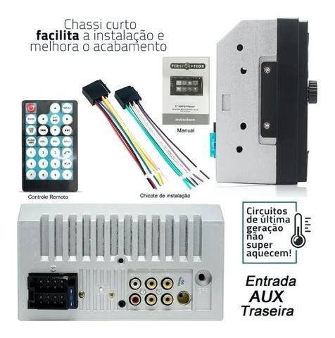 Imagem de Central Multimídia Universal Dvd 2 Din Mp5 Bluetooth Usb Pen Drive Aparelho Rádio Automotivo Som