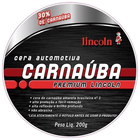 Imagem de Cera de Carnaúba Premium 200g Lincoln