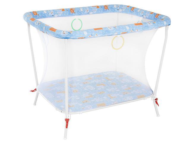 Imagem de Cercado para Bebê Tubline Little Baby Dobrável