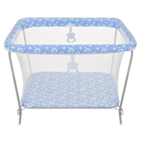 Imagem de Cercado para Bebê Tutti Baby Fofinho - Azul Essencial