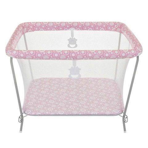 Imagem de Cercado para Bebê Tutti Baby Fofinho - Rosa