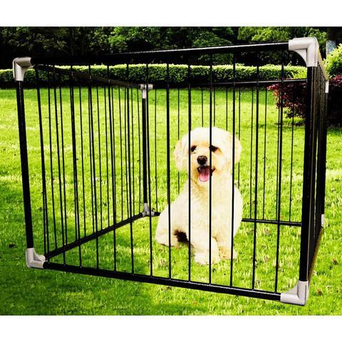 Imagem de Cercado Para Cães Tubline Play Preto