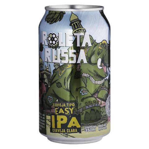 Imagem de Cerveja artesanal Roleta Russa Easy IPA Lata 350ml