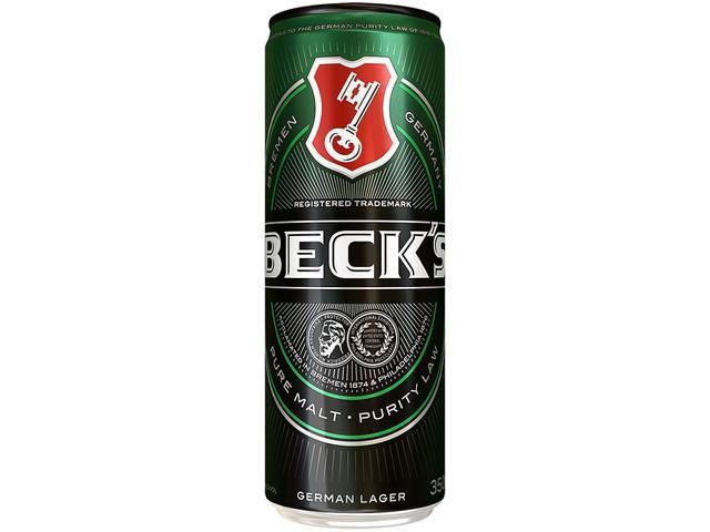 Imagem de Cerveja Becks Puro Malte Lager 350ml