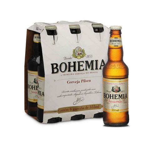 Imagem de Cerveja Bohemia Pilsen 355ml Caixa com 6 unidades