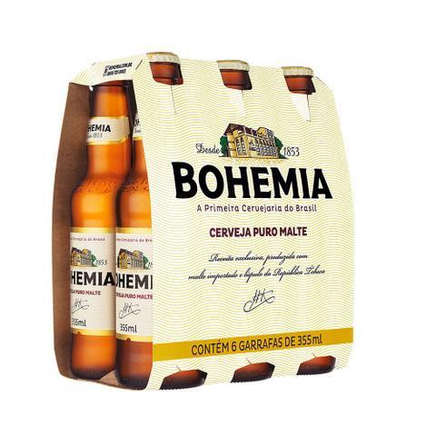 Imagem de Cerveja Bohemia Puro Malte 355ml Pack (6 unidades)