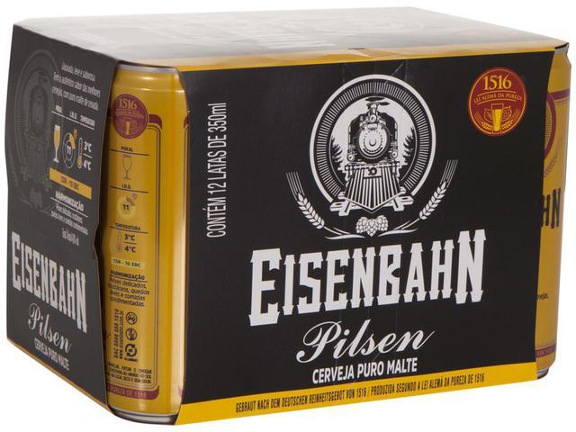 Imagem de Cerveja Eisenbahn Pilsen 12 Unidades
