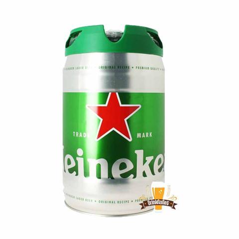 Imagem de Cerveja heineken barril de 5l