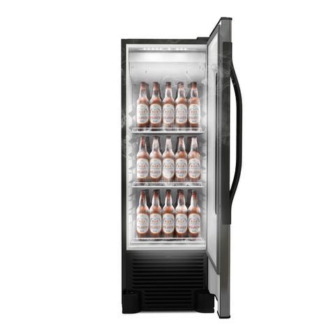 Imagem de Cervejeira Beer Maxx Porta de Visor 324 Litros Metalfrio VN28TP Inox 127V