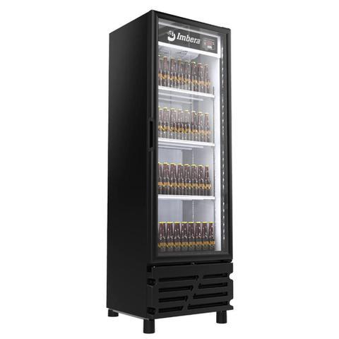 Geladeira/refrigerador 454 Litros 1 Portas Preto Porta de Vidro - Imbera Beyond Cooling - 220v - Ccv315