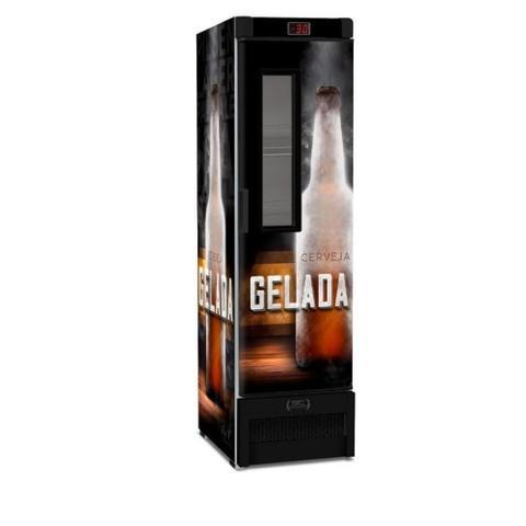Imagem de Cervejeira Expositor Vertical Porta Com Visor 287 Litros Vn28fe New - Metalfrio 127v