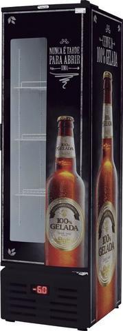 Imagem de Cervejeira Fricon 284 Litros Porta de Chapa com Visor VCFC 284 D  220 Volts