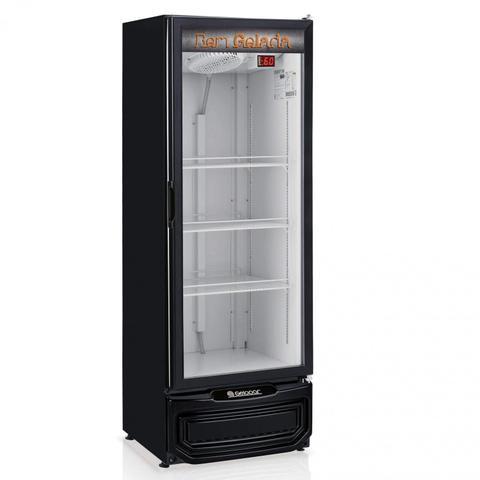 Geladeira/refrigerador 410 Litros 1 Portas Preto - Gelopar - 110v - Grba-400pr