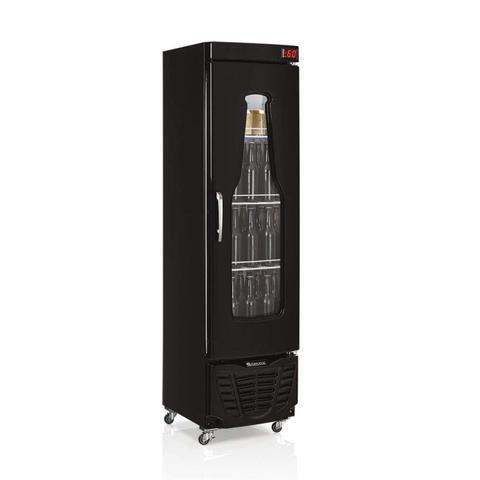 Imagem de Cervejeira Porta de Vidro com LED 230L Profissional Gelopar 127V Preto