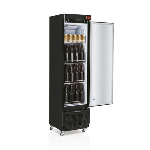 Imagem de Cervejeira Porta de Vidro com LED 230L Profissional Gelopar 220V Preto