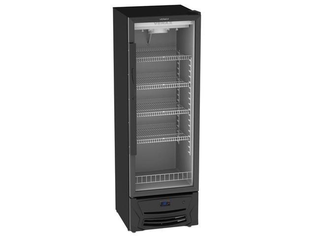 Geladeira/refrigerador 330 Litros 1 Portas Preto - Venax - 220v - Expvq330