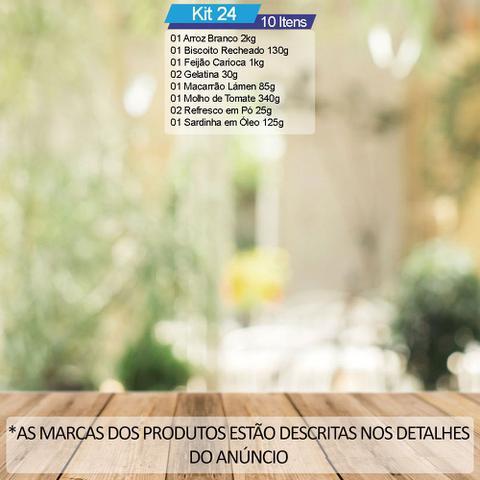 Imagem de Cesta Básica De Alimentos c/ 10 Itens