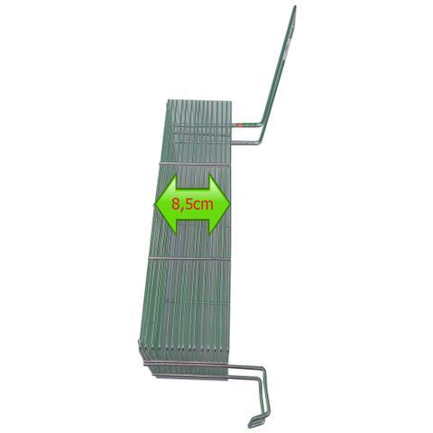 Imagem de Cesto D Fritura 24 X 11 X 8,5 Fritadeira Retangular Em Arame