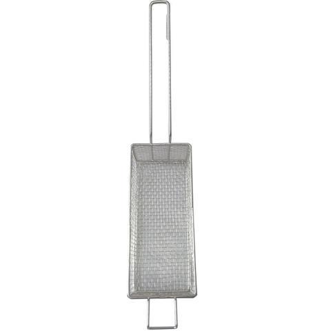 Imagem de Cesto D Fritura  Em Tela 24x11x10cm P Fritadeira Retangular
