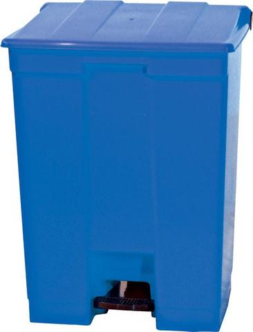Imagem de Cesto de lixo C/Pedal 30L ,CP30AZ Azul - Bralimpia