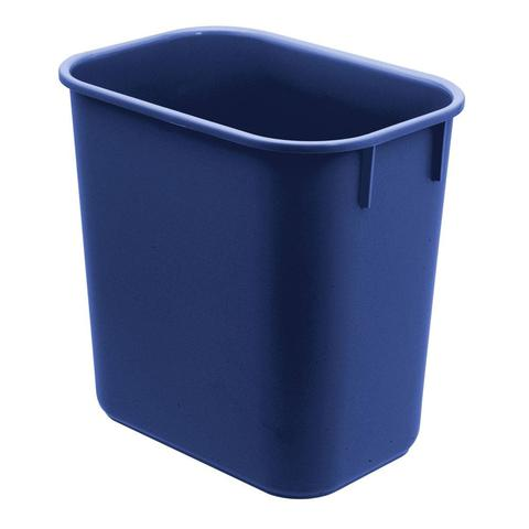 Imagem de Cesto de Lixo P/ Escritório Plástico 12L Azul  571.4 Acrimet