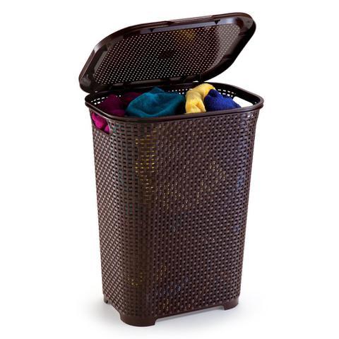 Imagem de Cesto de roupa rattan 30 litros monte líbano