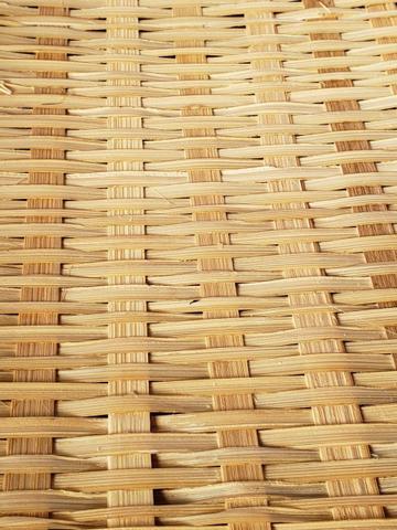Imagem de Cesto Porta Pão e Bolo Bambu Cobertura Retrátil Retangular