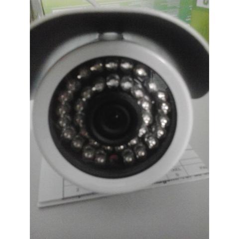 Imagem de Cftv Camera Tubular 1/3 Infra Hb-605 Hd 15-50m 42leds Len:2.8-12mm